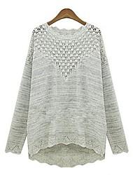 Medium - Langarm - Pullover - Strickware/Woll-Mischung )