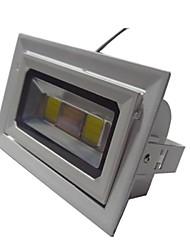 Proiettore 40w 2 led ip65 impermeabile bianco bianco caldo led AC85-265V alluminio