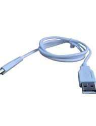 USB зарядное устройство кабель питания шнур для Nintendo Wii U геймпад