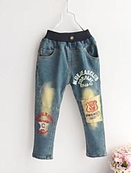 Boy's Cotton/Denim Jeans , Winter/Spring/Fall