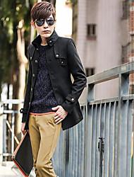 Men's Fashion New Single Chinese Tunic Coat
