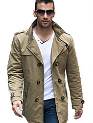 Men's Long Sleeve Jacket  Pure Cotton Outerwear