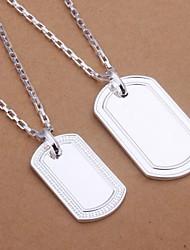 sistema de la joyería de lureme®men plateado 925 tamaño de la marca de moda collar de dos piezas