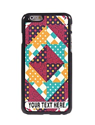 Personalized Case Lovely Design Metal Case for iPhone 6 Plus