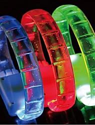 Hallowmas Christmas Party LED Flash Bracelet Toys(Random Color)