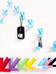 flèches en bois relient stickers muraux (couleurs assorties) (1 pc)