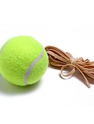 fangcan alta flexibilidad de color amarillo con el tenis stringtrainning bola 1 pieza