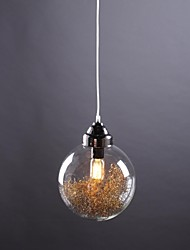 Pendant Light ,  Modern/Contemporary Traditional/Classic Country Vintage Lantern Nickel Feature for Mini Style GlassLiving Room Bedroom