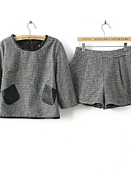 Frauen figurbetonten Anzug (Bluse&Shorts)