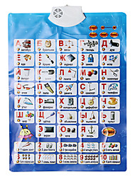 Baby's Learning Chart in Russian with Sounds Educational Toy