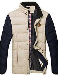 VaLS ™ Men's Standard Collar Slim Short  Winter Warm Jacket/Outwear