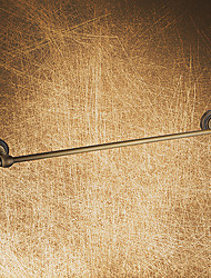 Single Towel Bar,Antique Brass Finish Brass Material,Bathroom Accessory