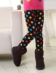 Girl's Multi-color Leggings Cotton Blend Winter / Spring / Fall