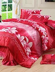 nuanyan цветочный принт теплый постельные принадлежности статье четыре части