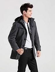 manteau en polaire de style coréen fazo (noir, gris)