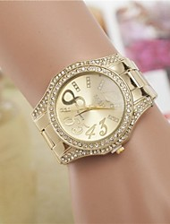 Women's Fashion Rhinestones Number 8 Steel Belt Quartz Wrist Watch(Assorted Colors) Cool Watches Unique Watches
