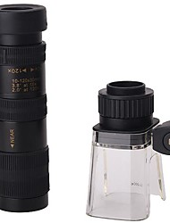 10-120x30 HD Monocular Telescope (Microscope Function 200X)