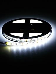 водонепроницаемый 72W 3000lm 300-SMD 5050 LED теплый белый / белый полосы света (5 м / DC 12V)