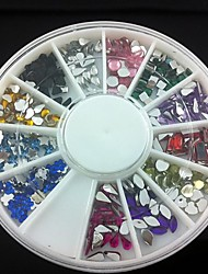 12 Kinds Acrylic Rhinestones Nail Art Decorations