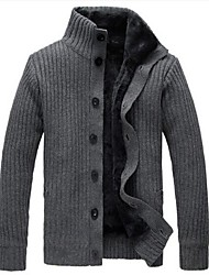 Men's  With Thickened Cardigan Cashmere