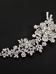 Women's Platinum Headpiece-Wedding / Special Occasion Flowers