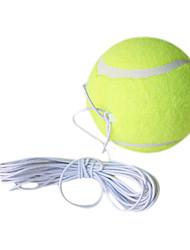командир высокая эластичность обучение шерсть теннисный мяч с веревкой