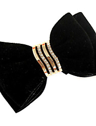 Fabric Bowknot Decorative Accents for Shoes One Pair