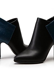 Women's Shoes Fashion Boots Pointed Toe Stiletto Heel Leather Ankle Boots More Colors available