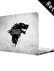 "Winter is Coming Design Full-Body Protective Plastic Case for 13""/15"" MacBook-Pro with Retina Display"