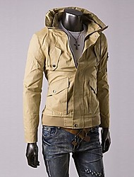 Men's Long Sleeve Jacket , Organic Cotton Casual/Work/Sport Pure