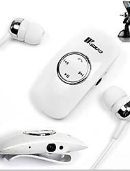 casque 3,5 mm écouteurs anti-bruit canal de l'oreille bluetooth de contrôle du volume mp3 pour téléphones