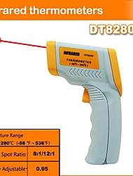 DT8280 industrial infrared thermometer non-contact infrared thermometer(-50℃~280℃/-58℉~536℉)