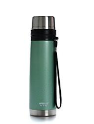 Haers 500ml Vacuum Hand Orange Leather Warhead Vacuum Flask