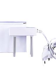 duas fileiras de equipamentos de eletrólise da água em forma de quadrado, para testar a qualidade da água tds