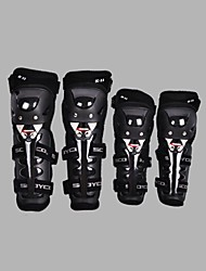 Outdoor Men's Anti Falling Motorcycle Gear Four Sets of Kneecaps Leggings