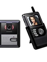2.4inch Portable LCD Color Screen Video Doorphone PY-3224P