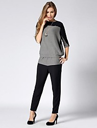 Women's Fashion Casual Loose Sport Suits:Shirt And Pants