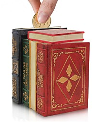 haoxinyi® nouveauté antique livre de style boîte de l'argent de conception q11095