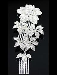 Personalized Gorgeous Rhinestones Wedding Bridal Combs