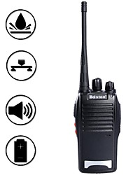 baiston BST-688 5W 16 canales de walkie talkie 400.00-470.00mhz - negro