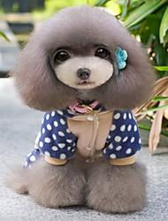 moda linda com palavra de macacões de criação de amor com espolia hoodies para cães (tamanhos variados SL)