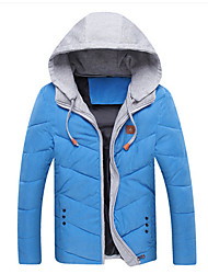 Jianda Men's Hoodie Custom Fit Leisure Coat