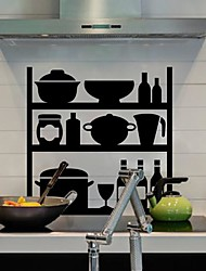 Wall Stickers Wall Decals,  Modern Simple cabinet PVC Wall Stickers