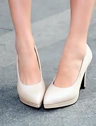 bombas plataforma sapatos dedo apontado stiletto calcanhar das mulheres sapatos mais cores disponíveis