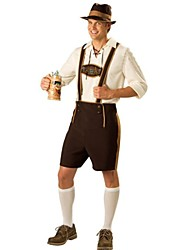 Cosplay Costumes / Party Costume German Oktoberfest Waiter Straps Terylene Halloween Costume