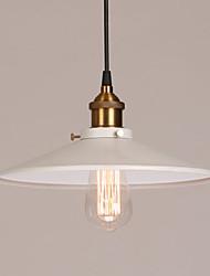 Umei ™ max 60W pittura epoca Lampade a sospensione in metallo soggiorno / camera da letto