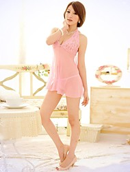 Women Babydoll & Slips Nightwear Others Pink Women's