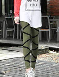 Frauen s Linientyp Leggings