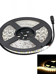 Waterproof 72W 3000lm 2800K 300-SMD 5050 LED Warm White Light Strip (5m / DC 12V)