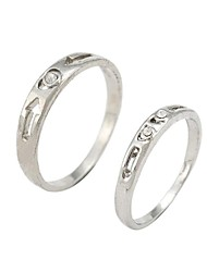 Fashion Simple Exquisite Couple Rings Random Size